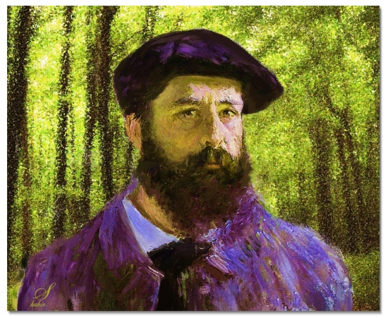 Claude Monet por shahin